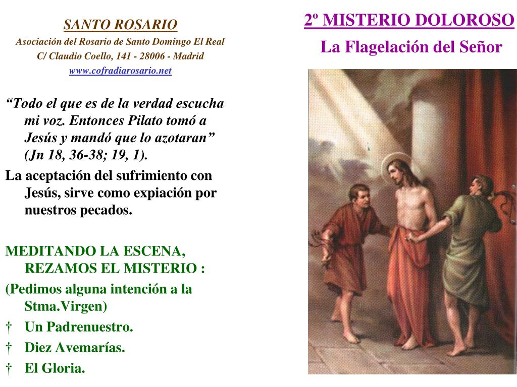 2º MISTERIO DOLOROSO