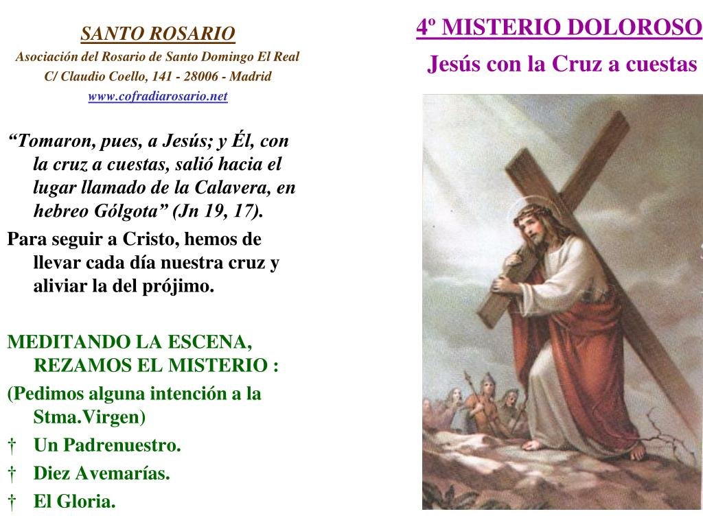 4º MISTERIO DOLOROSO