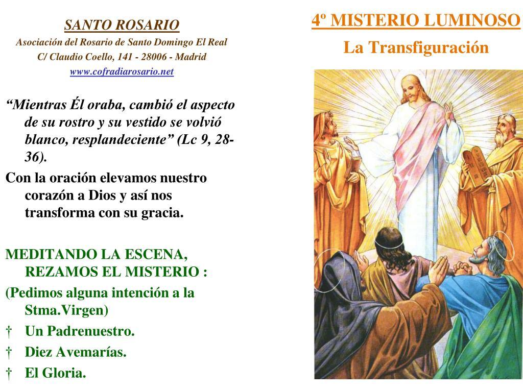 4º MISTERIO LUMINOSO