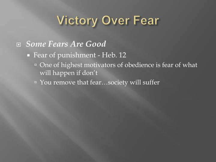 Victory over fear2 l.jpg