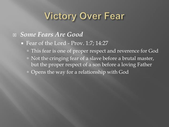 Victory over fear3 l.jpg