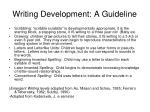 writing development a guideline
