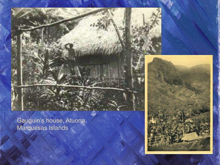 Gauguin's house, Atuona,