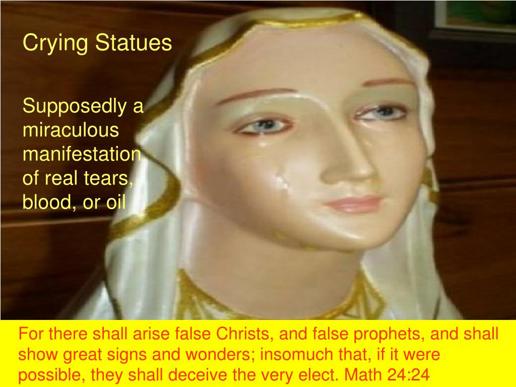 Crying Statues
