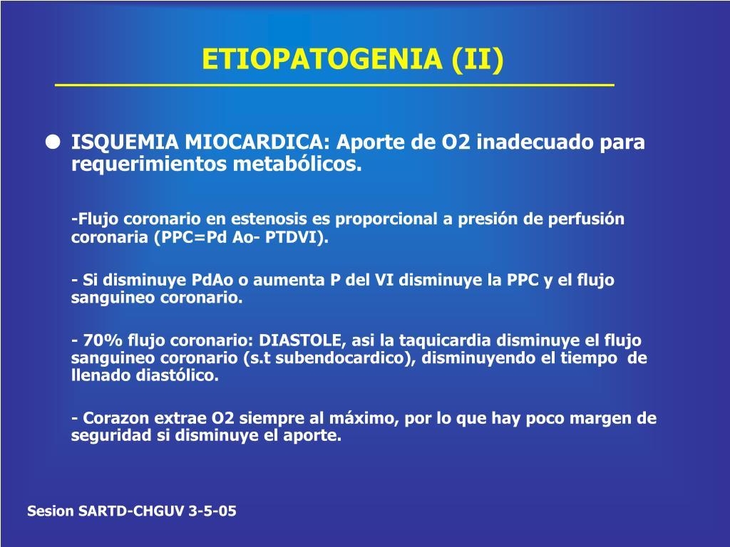 ETIOPATOGENIA (II)