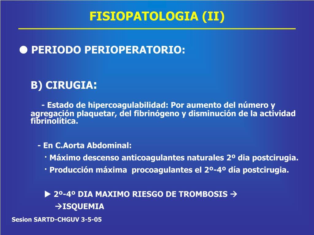 FISIOPATOLOGIA (II)