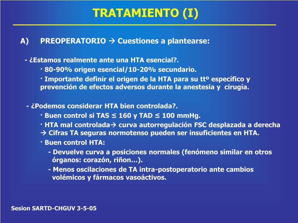 TRATAMIENTO (I)
