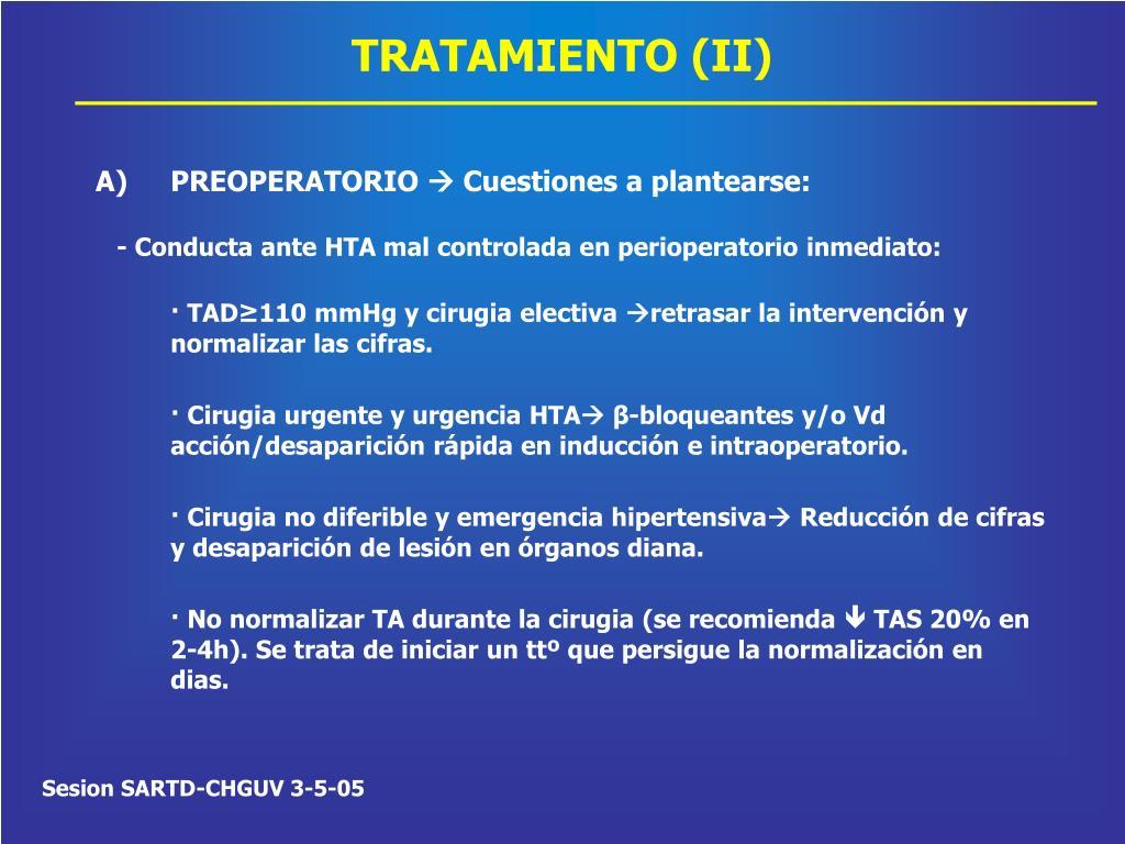 TRATAMIENTO (II)