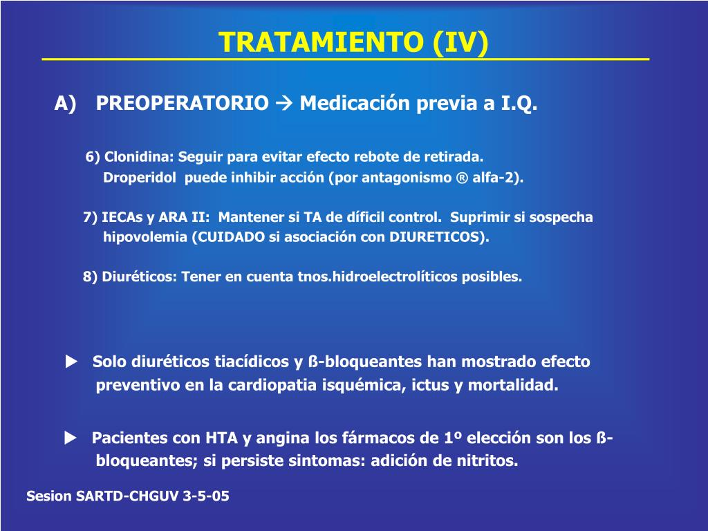 TRATAMIENTO (IV)