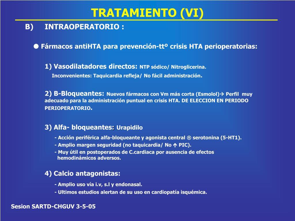 TRATAMIENTO (VI)