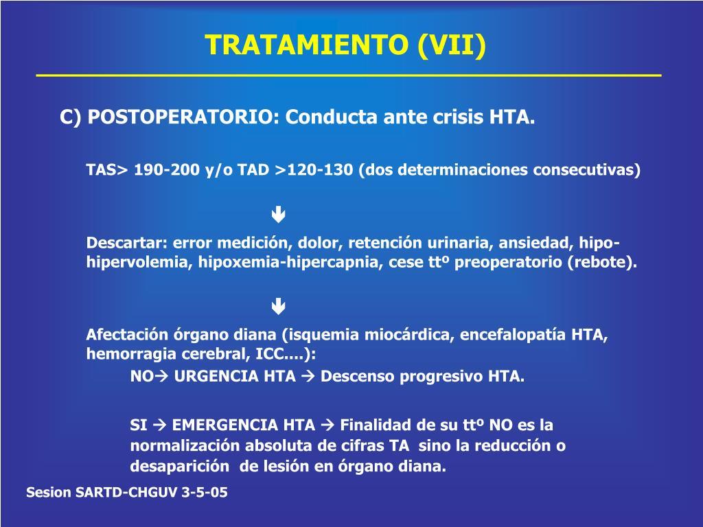 TRATAMIENTO (VII)