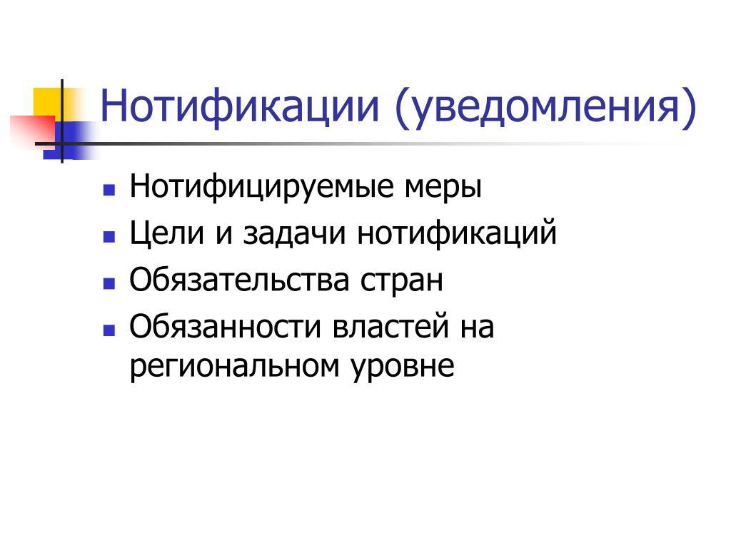 Нотификации (уведомления)