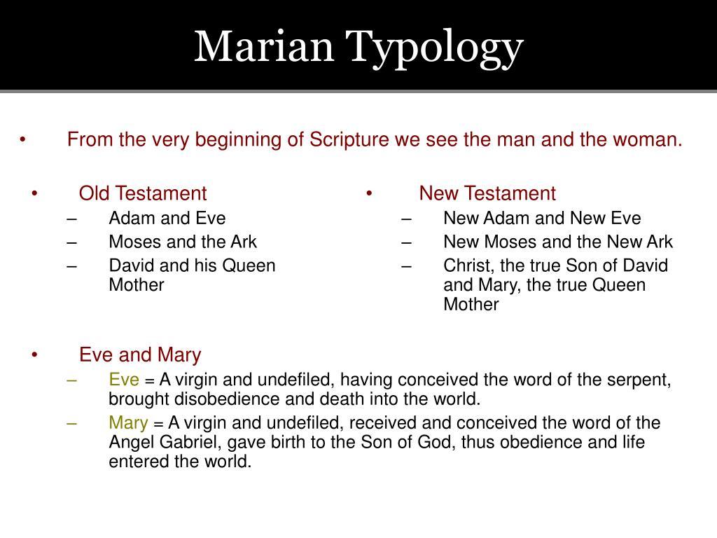 Marian Typology