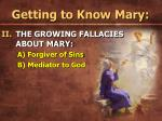 getting to know mary19