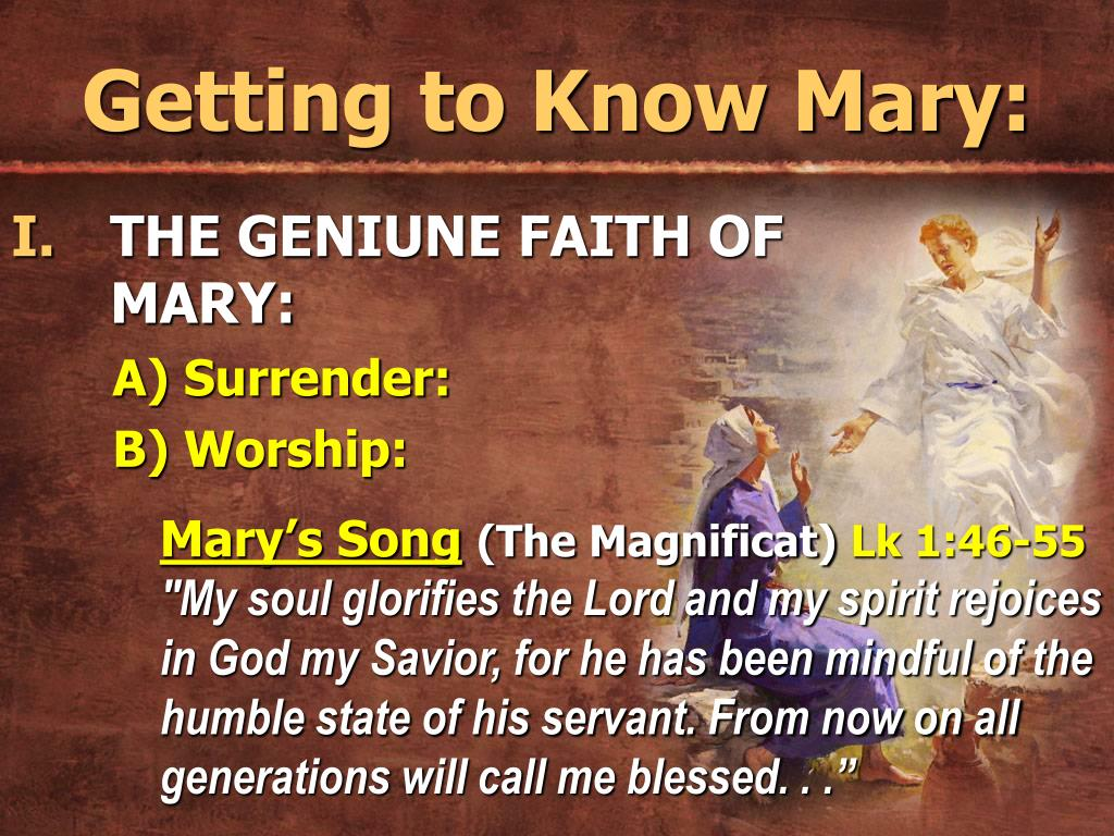 Getting to Know Mary: