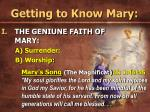 getting to know mary27