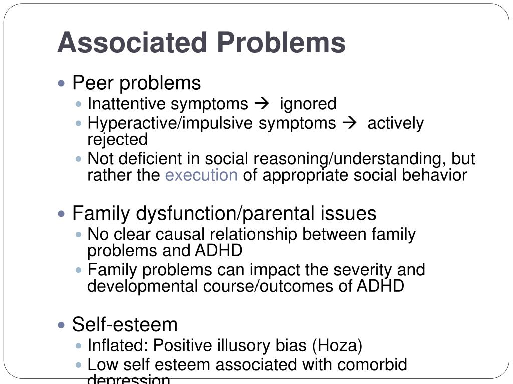 Associated Problems