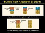 bubble sort algorithm cont d29