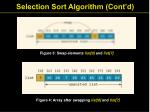selection sort algorithm cont d5
