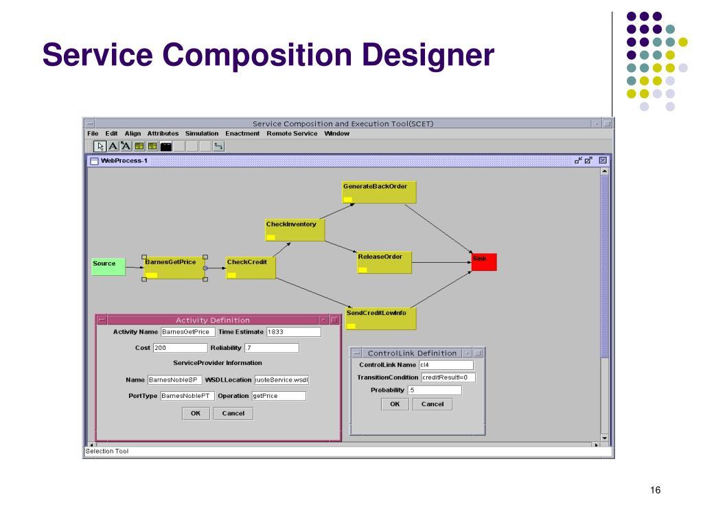 Service Composition Designer
