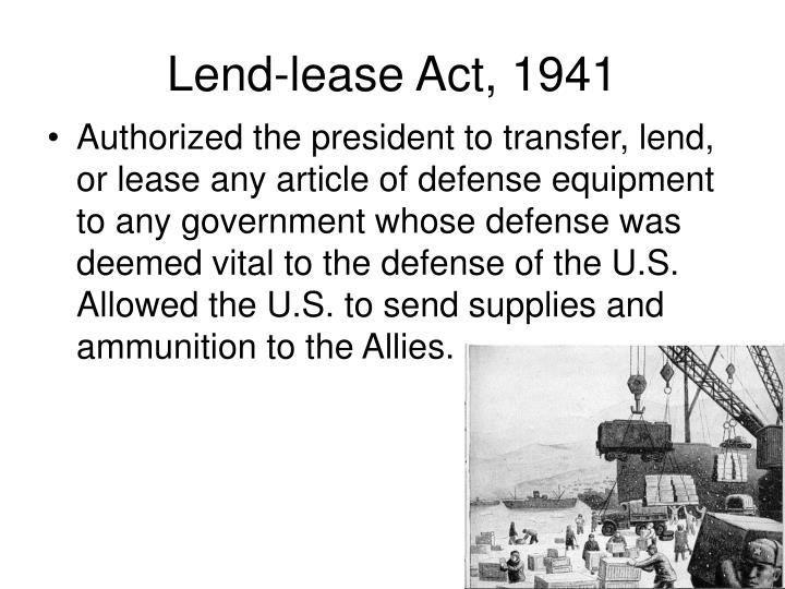 Lend lease act 1941 l.jpg