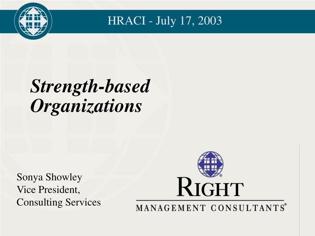 HRACI - July 17, 2003