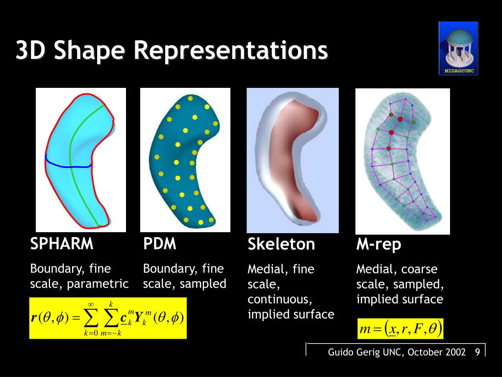 3D Shape Representations