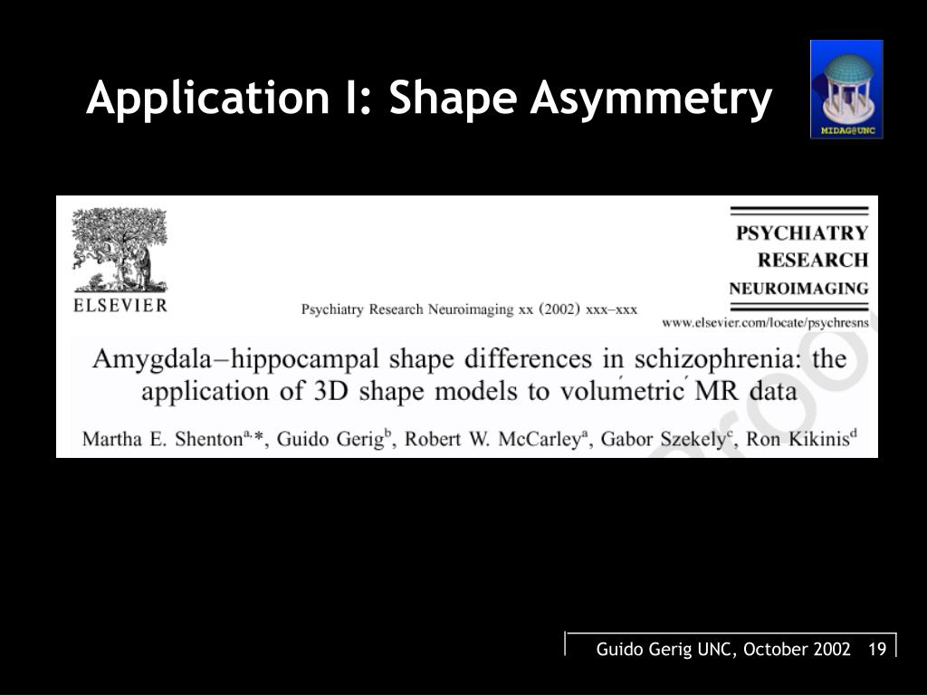 Application I: Shape Asymmetry