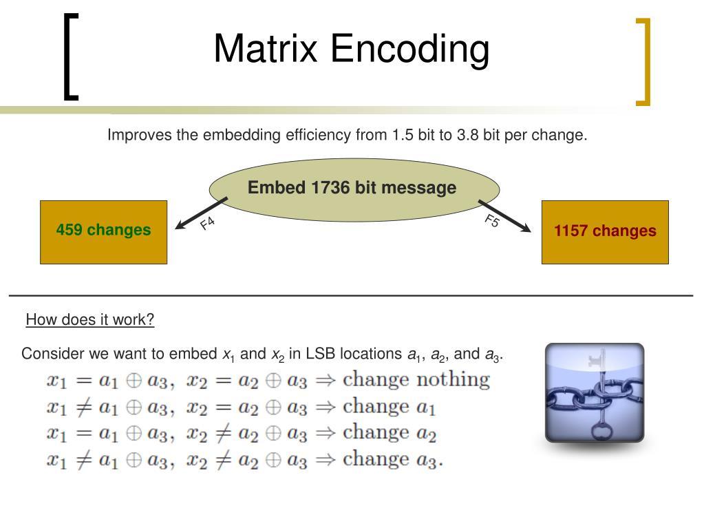 Matrix Encoding