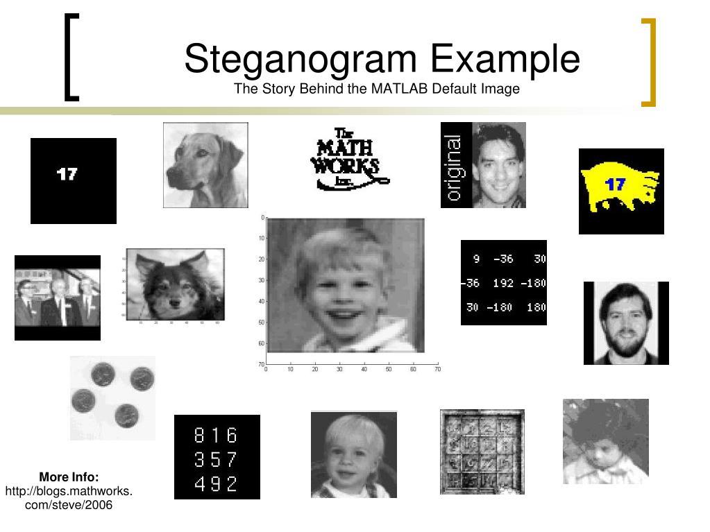 Steganogram Example