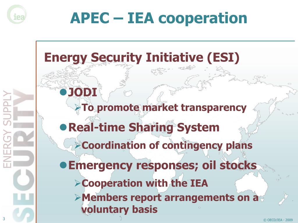 APEC – IEA cooperation