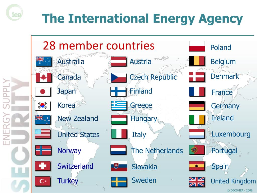 The International Energy Agency