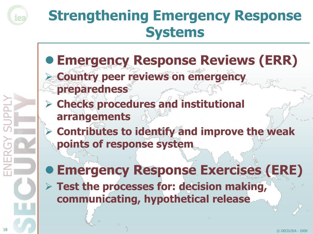 Strengthening Emergency