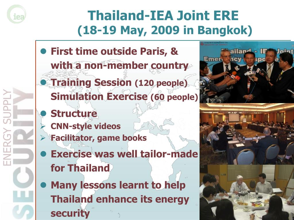 Thailand-IEA Joint ERE