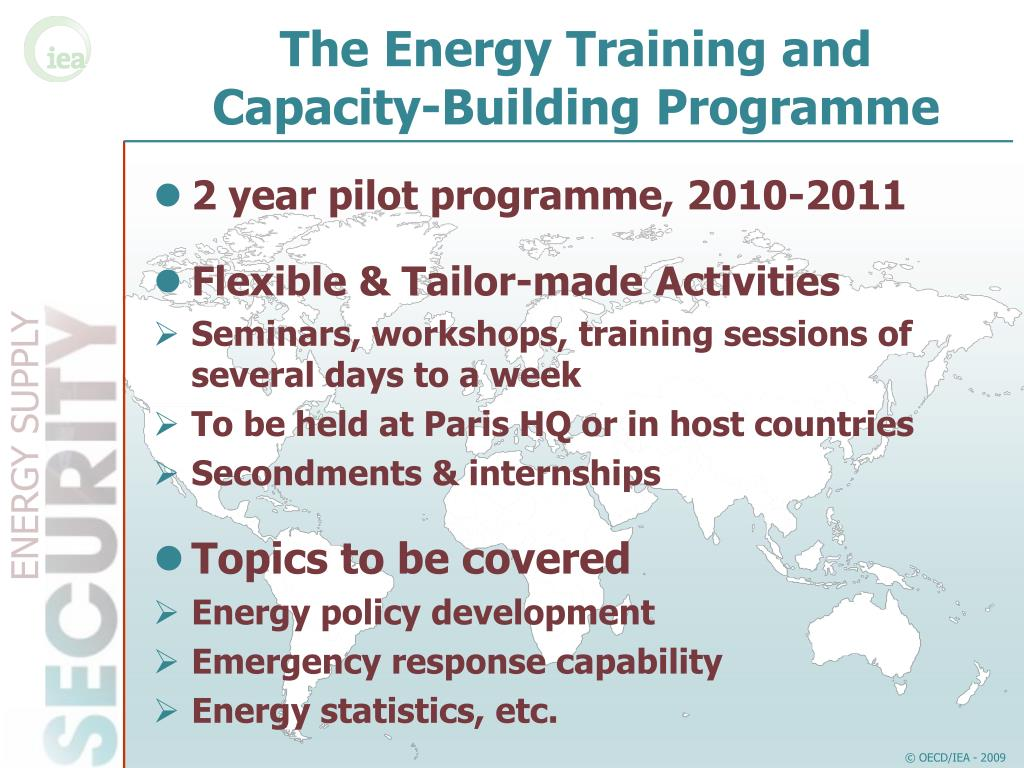 The Energy Training and