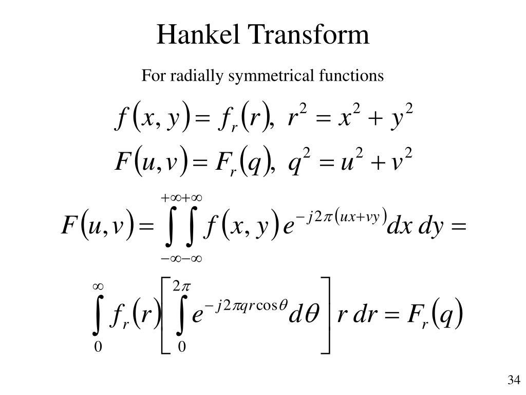 Hankel Transform