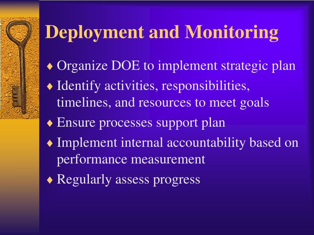 Deployment and Monitoring