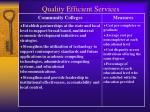 quality efficient services27