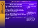 quality efficient services28