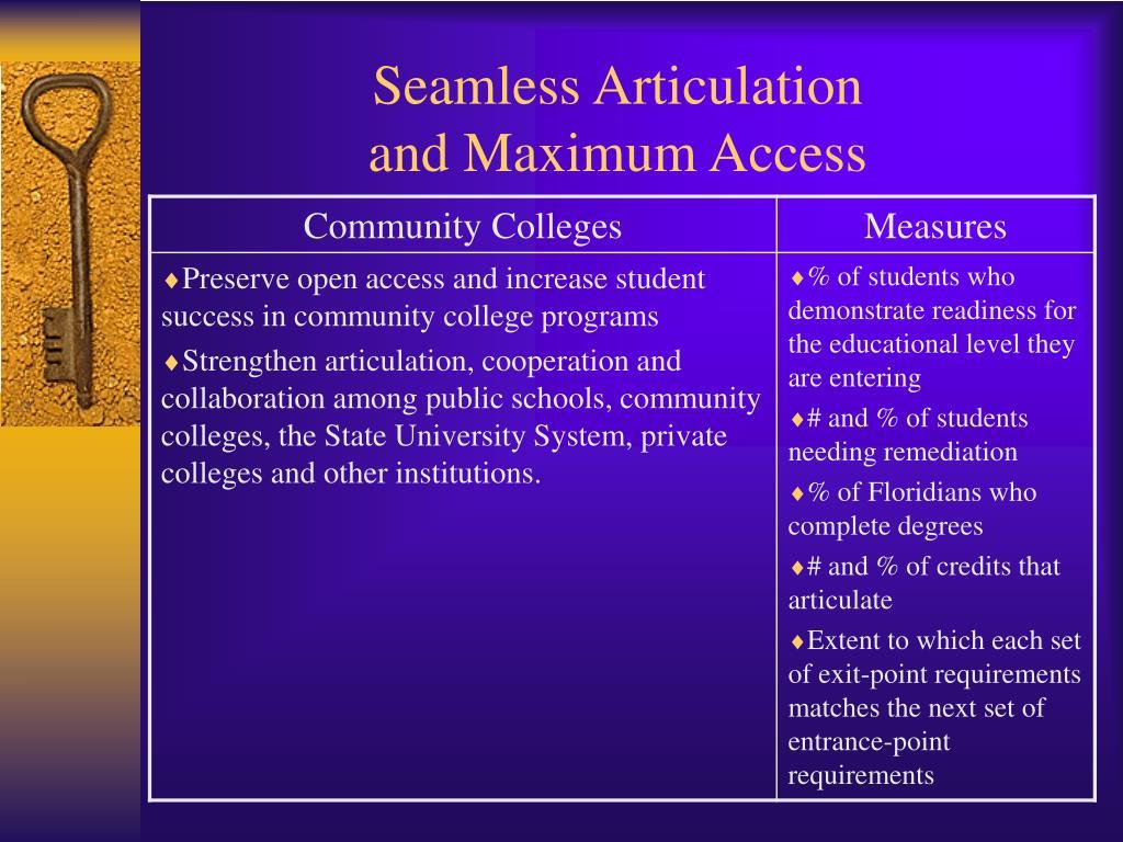 Seamless Articulation