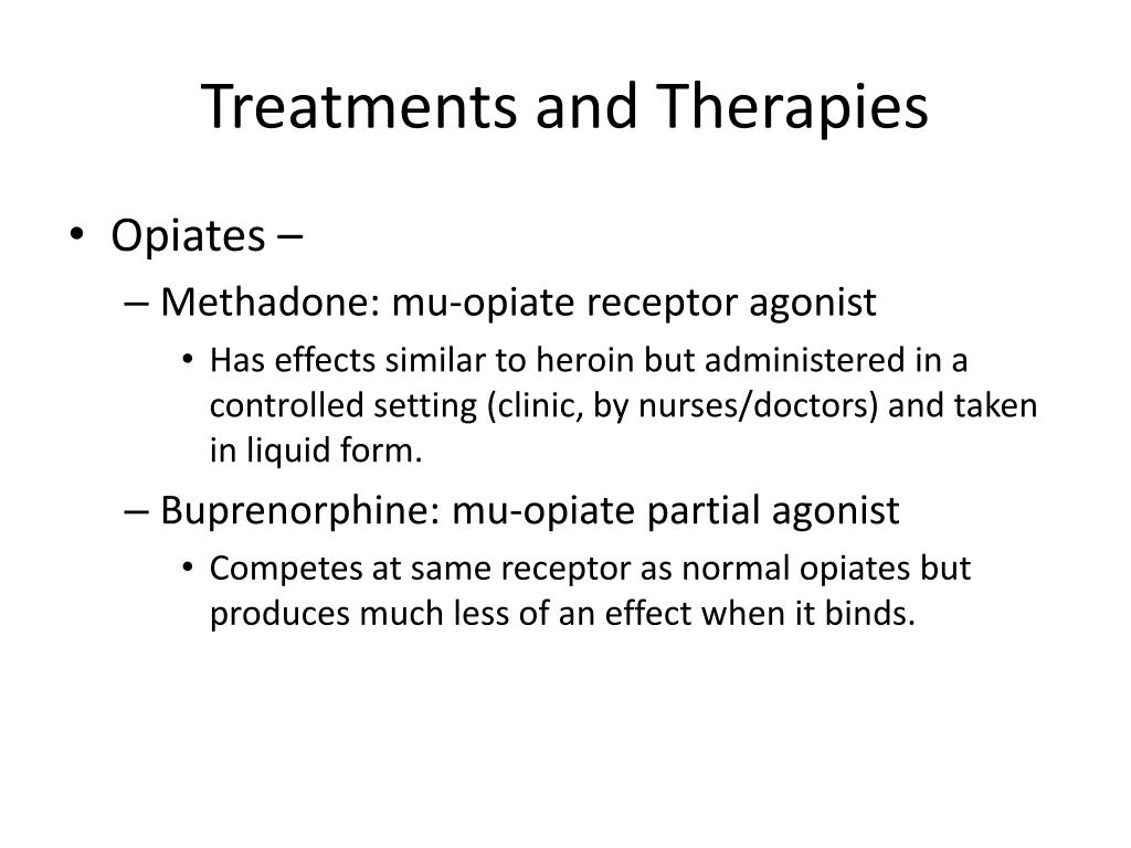 Treatments and Therapies