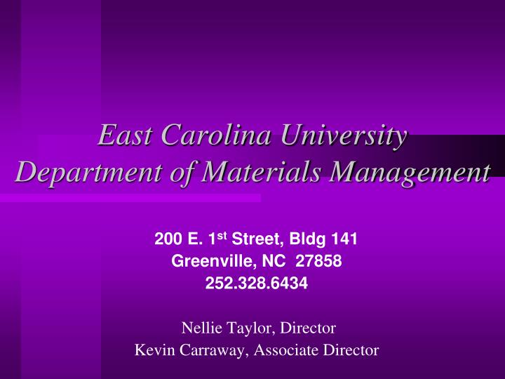 East carolina university department of materials management l.jpg