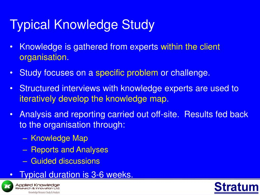 Typical Knowledge Study
