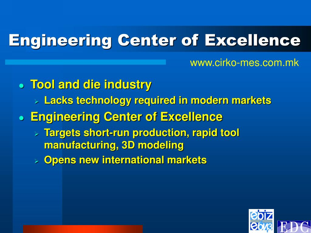 Engineering Center of Excellence