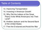 table of contents27