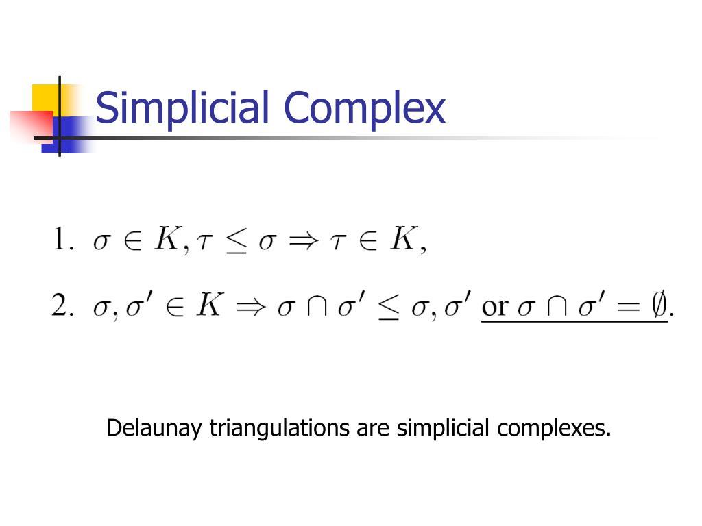 Simplicial Complex