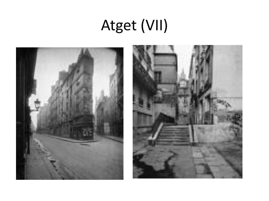 Atget (VII)