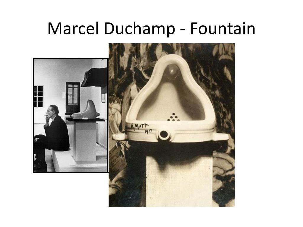 Marcel Duchamp - Fountain