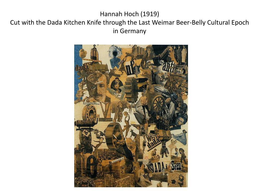 Hannah Hoch (1919)