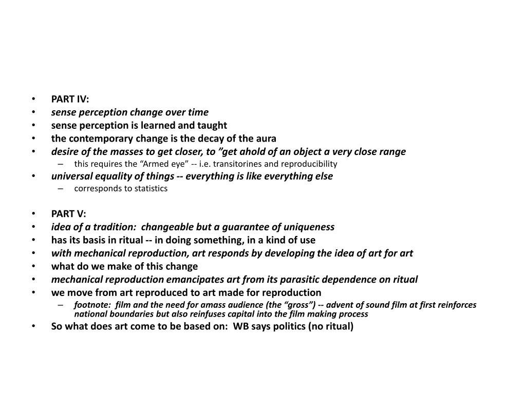 PART IV: